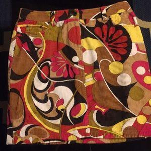 Etcetera Corduroy skirt size 6